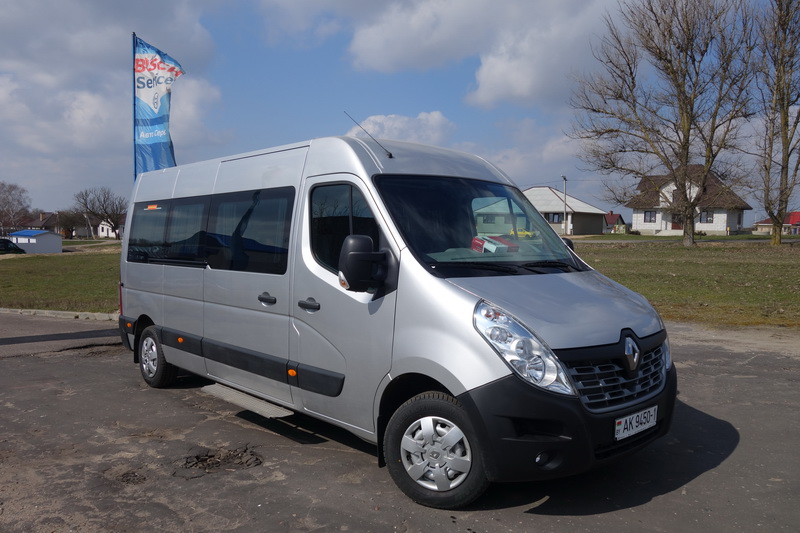 Renault Master 15 мест