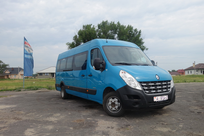 Renault Master 20 мест